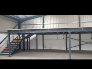 Mezzanine Floor - Car Dealership