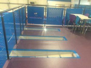 mezzanine flooring - glass deck inserts