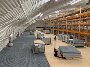 mezzanine floor - airfield hangar